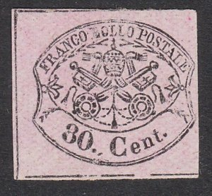 ITALY PAPAL STATES  An old forgery of a classic stamp.......................C204