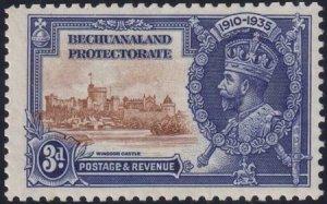 Bechuanaland 1935 SC 119 Var / SG 113a Extra Flagstaff MLH