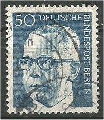 BERLIN, 1970, used 50pf Pres Heinemann Scott 9N291