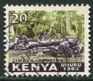 KENYA 1963 - 20c USED