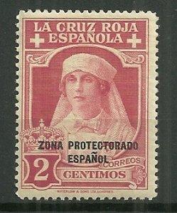 1926 Spanish Morocco 2c Queen Victoria as Nurse MH