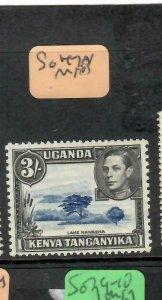 KENYA,UGANDA, TANGANYIKA (P1405B) KGVI   3/-  SG 147A   MNH
