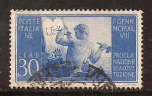 Italy  #  494  used