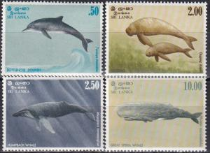 Sri Lanka #658-61 MNH CV $17.85 (A18476)