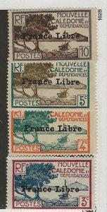 New Caledonia 219-222 MN