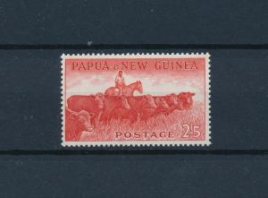 [59270] Papua New Guinea 1960 Animals Cows Horse from set MNH