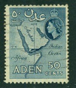 Aden 1956 #53a U SCV (2015)=$0.25