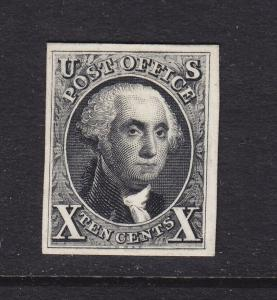 4P4 XF plate proof on card with nice color cv $ 300 ! see pic !