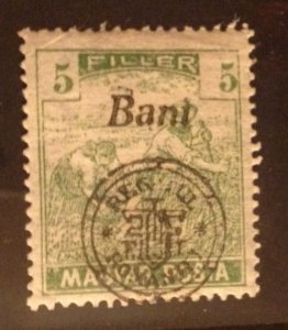 Hungary 1916 MNH 5f (Kolozsvar) Very Fine Scott 5N4