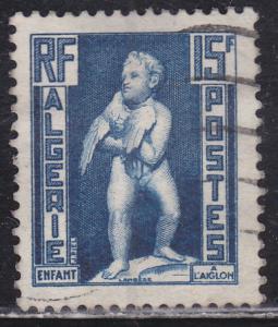 Algeria 242 Child with Eagle 1952