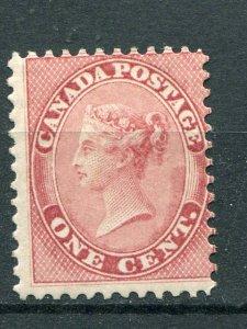 Canada #14  Mint  lightly hinged  signed  - Lakeshore Philatelics