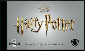 HERRICKSTAMP GREAT BRITAIN Sc.# BK222 Harry Potter Prestige Booklet