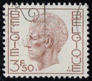 Belgium #752 King Baudouin; Used (0.25)