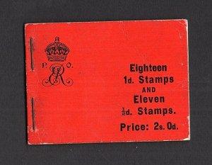 EDWARD VII 2/- BOOKLET SG BA5 Cat £2700