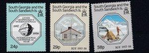 SOUTH GEORGIA    1987  GEOPHYSICAL  YEAR   MNH