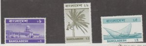 Bangladesh Scott #82-83-84 Stamps - Mint NH Set