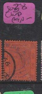HONG KONG   (P0907B) 10C  SG 28 CHOP  VFU