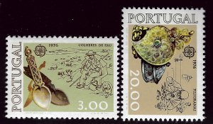 Portugal SC#1283-1284 Mint VF SCV$33.00...An Amazing Country!