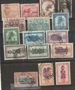 Belgium Congo Used lot of 16 #190816-5