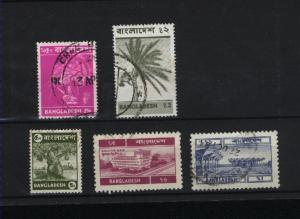Bangladesh   5 different used  PD 25