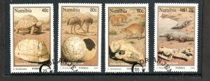 1995   NAMIBIA  -  SG: 663/666  -  FOSSILS  -  USED