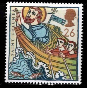 Great Britain Scott 1730 MNH** 1997 St. Columba stamp