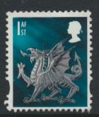 GB Regional Wales 1st Class   SG W99 SC#21 Used    see details