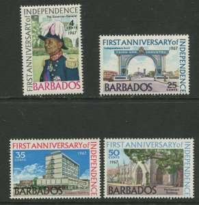 STAMP STATION PERTH Barbados #298-301 General Issue MNH CV$1.50