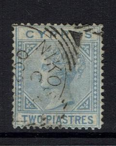 Cyprus SG# 13, Used, Watermark cc -  Lot 112916