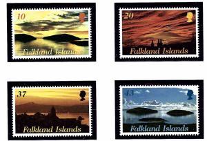 Falkland Is 776-79 MNH 2000 Sunrises and Sunsets
