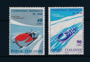 [43759] Italy 1966 Wintersport World cup Bobsleigh MNH