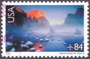United States # C141 used ~ 84¢ Yosemite National Park
