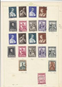 vatican 1961 stamps page refs 18331