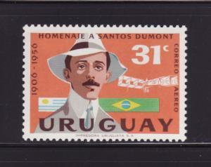 Uruguay C193 MNH Alberto Santos-Dumont, Aviator (B)