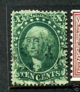 Scott #33 Washington Used Stamp (Stock #33-3)