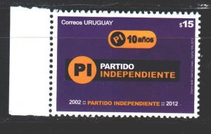 Uruguay. 2012. 3283. Independence Party. MNH.