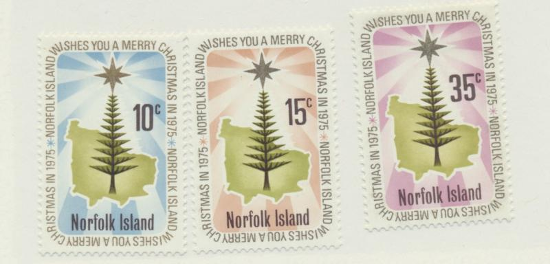 Norfolk Island Scott #187 To 189, Mint Never Hinged MNH, Christmas Issue From...