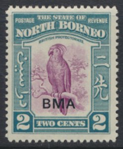 North Borneo  SG 321 SC# 209 MLH  OPT BMA See scans / details