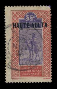 HAUTE-VOLTA - 1925 - CàD DOUBLE CERCLE KAYA / HAUTE-VOLTA /Yv.10