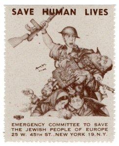 (I.B) US (WW2) Cinderella : Jewish Emergency Fund (Soldier)