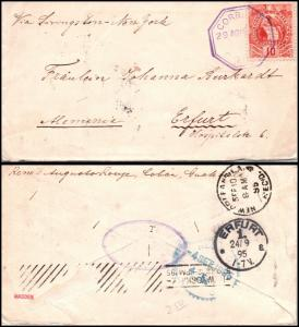 Goldpath: Guatemala cover 1895, to Germany  _CV23_P12