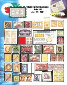 Nutmeg Stamp Sales - Foreign, Nutmeg 35