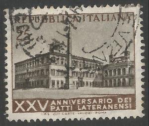 ITALY 647 VFU 297F-1
