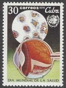 Cuba 2048 MNH  World Health Day 1976