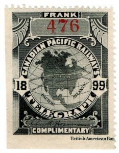 (I.B) Canada Telegraphs : Canadian Pacific (1899)