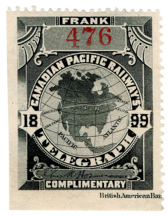 (I.B) Canada Telegraphs : Canadian Pacific (1899)