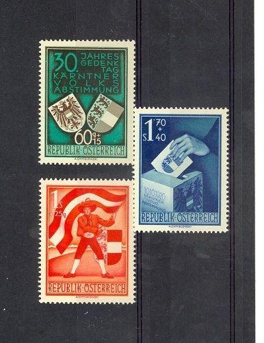 Austria Scott B269-B271 NH    [ID#424106]