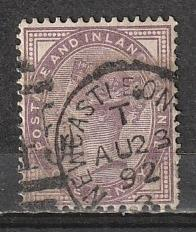 #89 Great Britain Used 16 dot