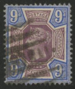 Great Britain Scott 120 UVFVLH -SCV $45.00