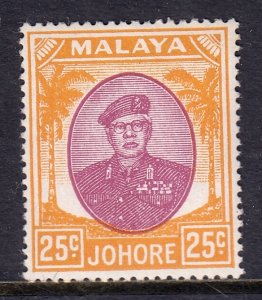 Malaya (Johore) - Scott #143 - MH - Toning spot - SCV $3.50